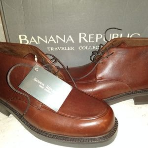 Banana Republic ankle lace up boots